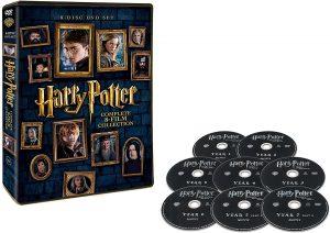 ハリー・ポッター 8-Film DVDセット (8枚組) 買取
